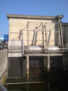 Griglia oleodinamica RD - Impianto idrovoro di San Michele al Tagliamento