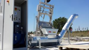Griglia oleodinamica CMR - Impianto di sollevamento Termovalorizzatore di Parma