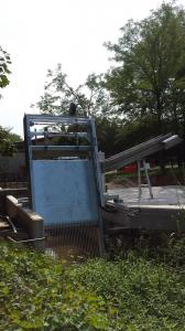 Griglia oleodinamica RD - Impianto di grigliatura acque bianche di Grignano (Comune)