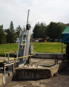 Griglia oleodinamica CR - Impianto bottini di Gavirate (Prealpi Servizi)