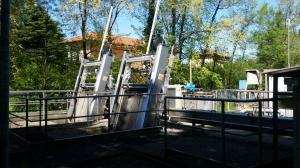 Griglia oleodinamica CR - Impianto di Gavirate (Prealpi Servizi)