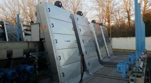 Griglie oleodinamiche RD - Carterizzazione completa - Impianto di depurazione di Verziano (BS) - A2A