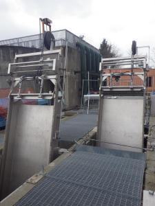 Griglie oleodinamiche CMR - Impianto di Pianezza (Aida Ambiente)