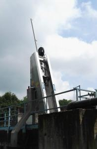 Griglia oleodinamica CR - Impianto di Gattinara (Servizi Idrici Integrati)