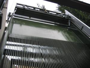 Griglia oleodinamica CRL - Impianto idroelettrico Biella