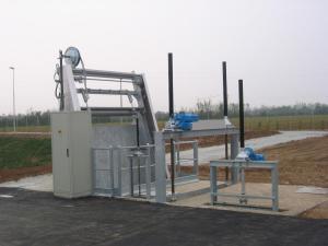 Griglia oleodinamica RD - Impianto di sollevamento